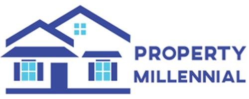 Logo - Property Millennial - Cluster - Rumah - Apartemen - Ruko