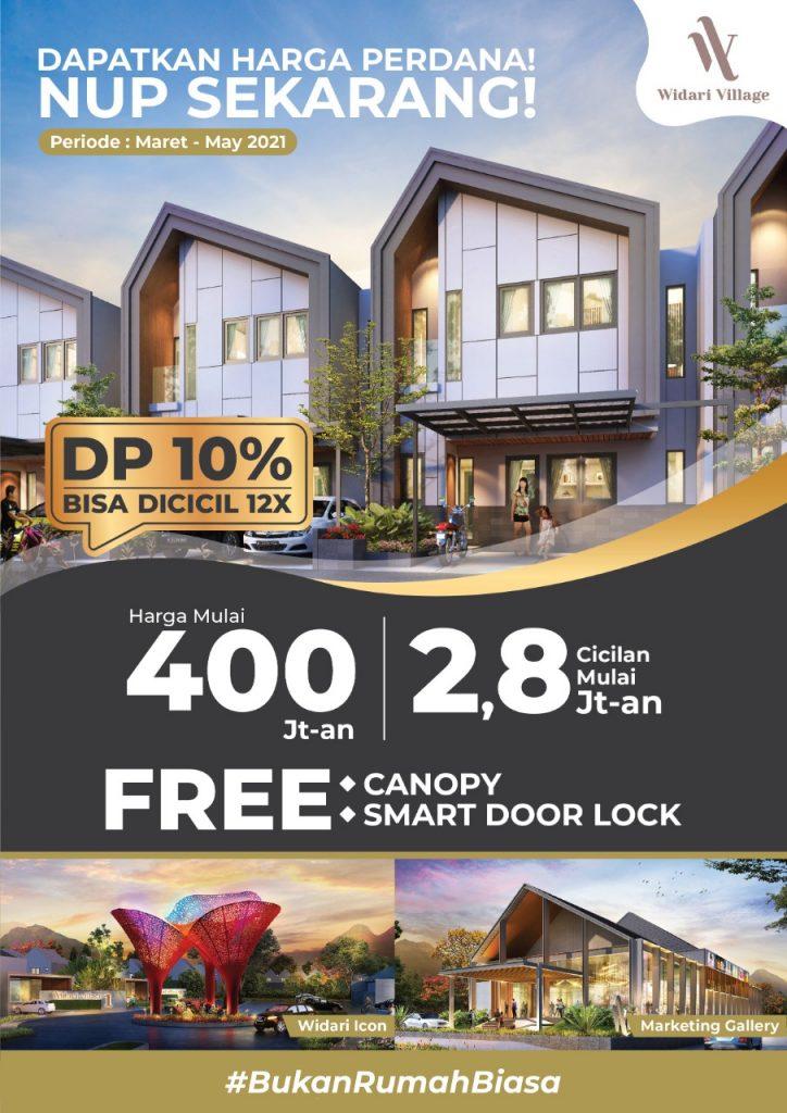 Image - DP 10% BISA DICICIL 12X - Property Millennial - Cluster - Rumah - Apartemen - Ruko