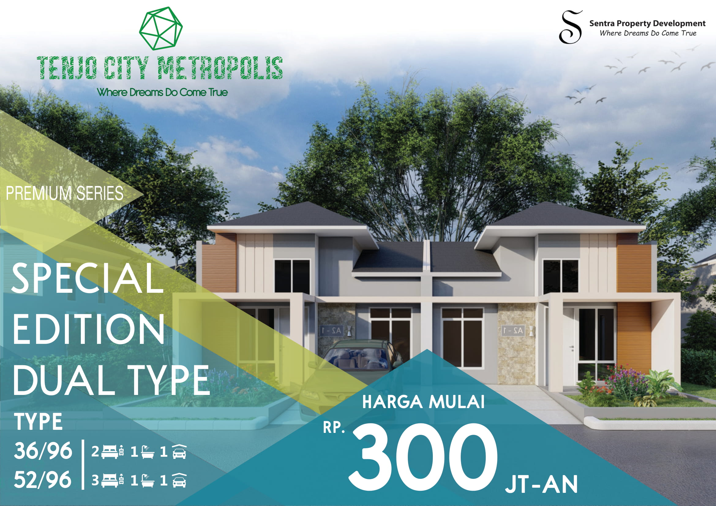 Image - Special Edition Dual Type - Property Millennial - Cluster - Rumah - Apartemen - Ruko